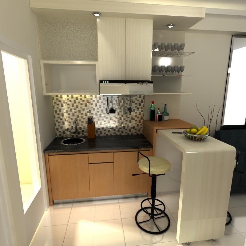 Meja Bar Di Dapur Rumah Minimalis  Gambar 715   Home