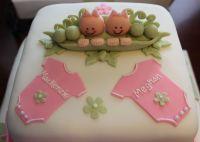 Twin Girl Baby Shower | cake ideas | Pinterest | Twin ...