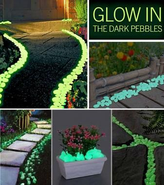 Glow In The Dark Pebbles Stone For Garden Pebble Stone And Walkways