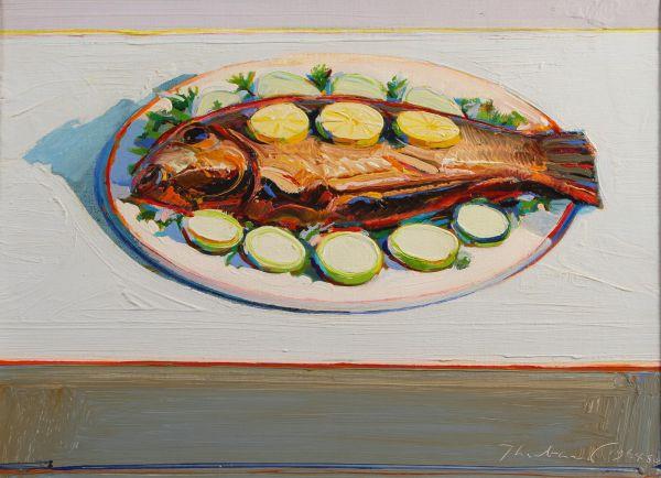 Wayne Thiebaud Food Paintings