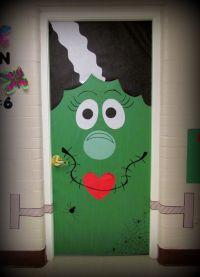 bride of frankenstein door decoration | Bride of ...