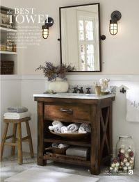 Photo (The Little Corner) | Pottery barn bathroom, Barn ...