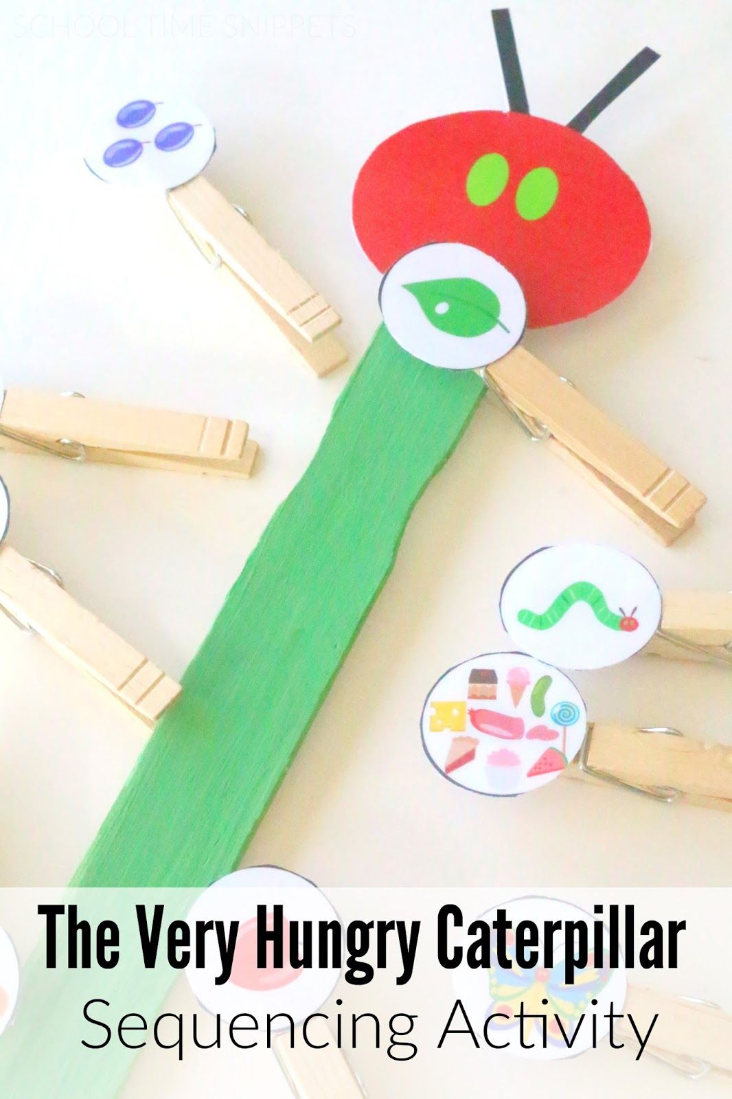 School Time Snippets Very Hungry Caterpillar Storybook