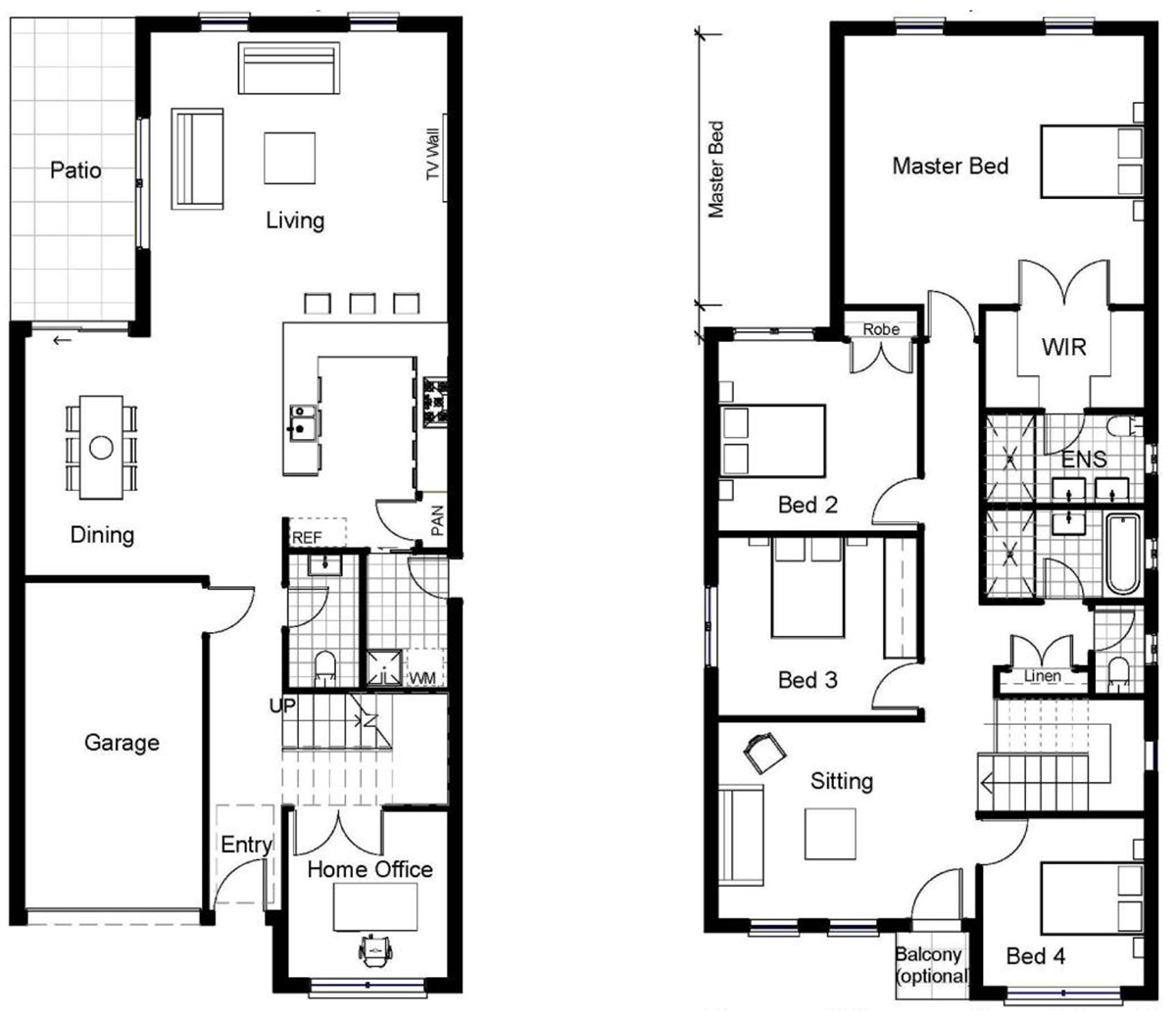 NARROW BLOCK HOME DESIGNS Construction Styles World