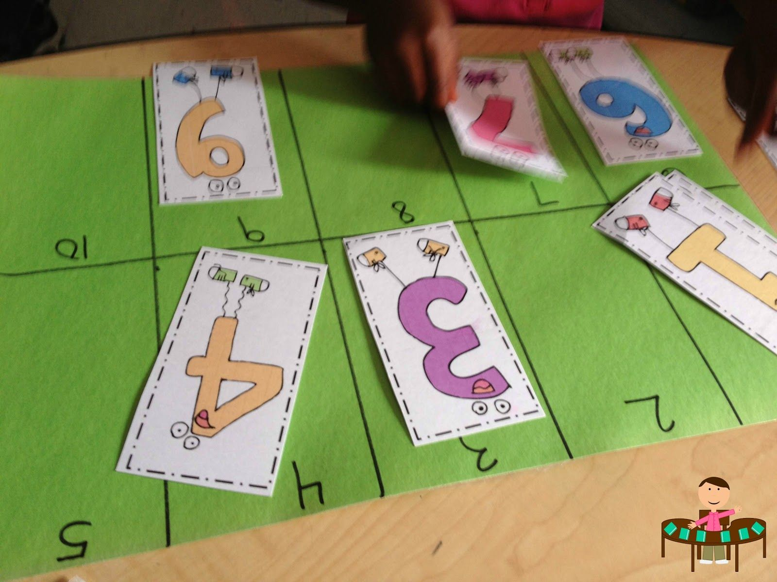Number Recognition Activity This Really Helps My Students Learn Numbers And Is Great For Small