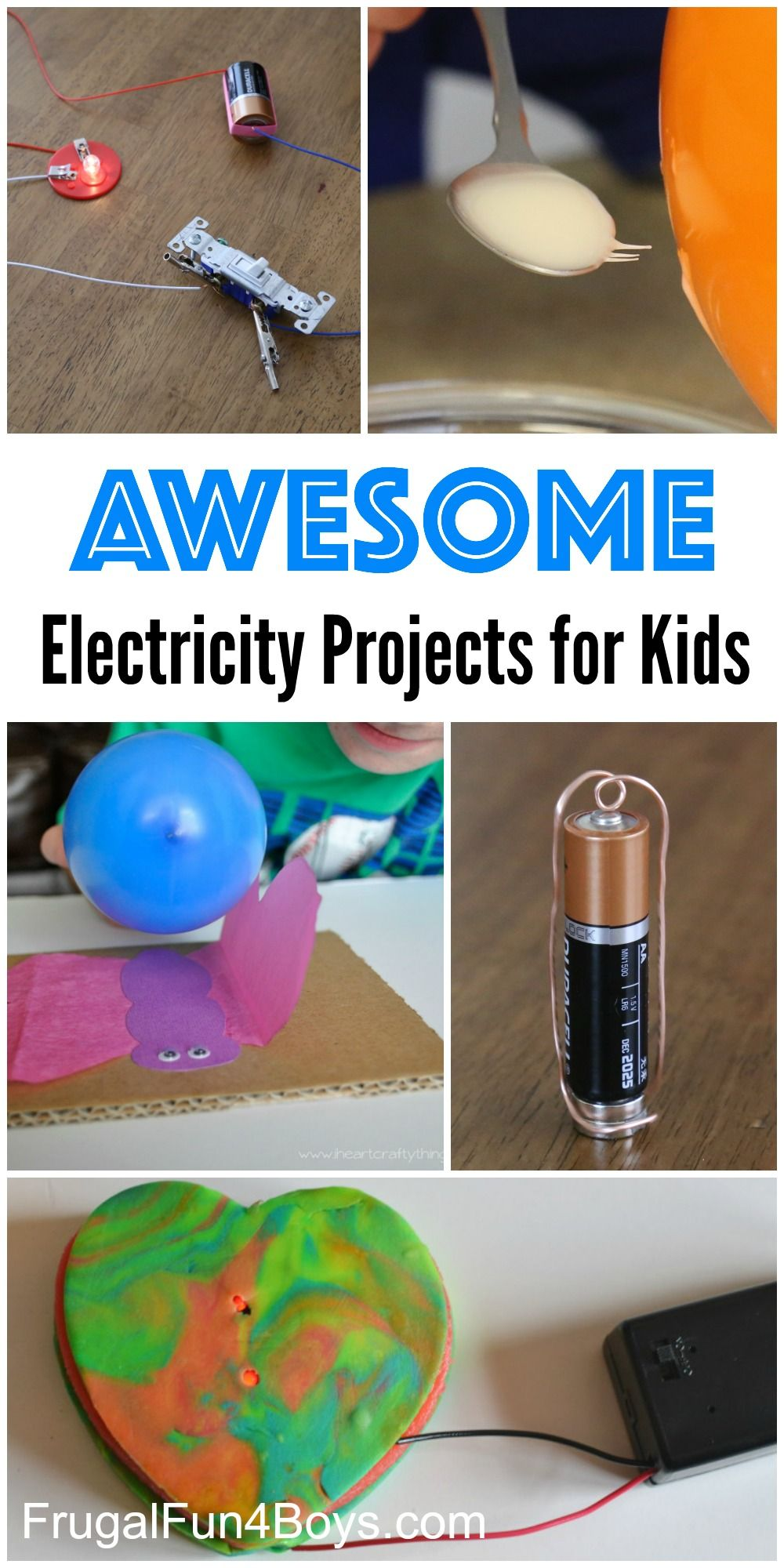 Make A Simple Circuit Electric Circuit Science Poster Ideas For Kids