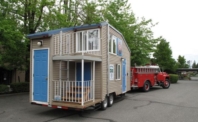 Tiny House Fire Safety Plus An Upstairs Balcony To