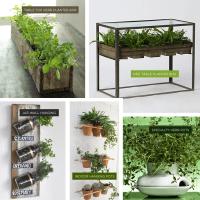DIY Vertical Herb Garden Our Cozy Cubbyhole 14 DIY Herb ...