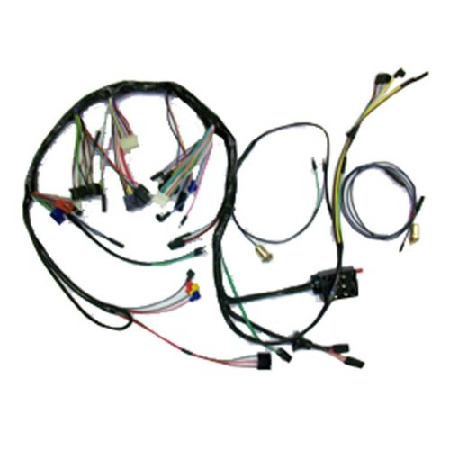 small resolution of 67 68 mustang shelby alternator wire wiring harness oem style wiring diagram ame
