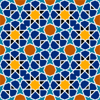 Islamic Geometric Tile 2 by GDJ