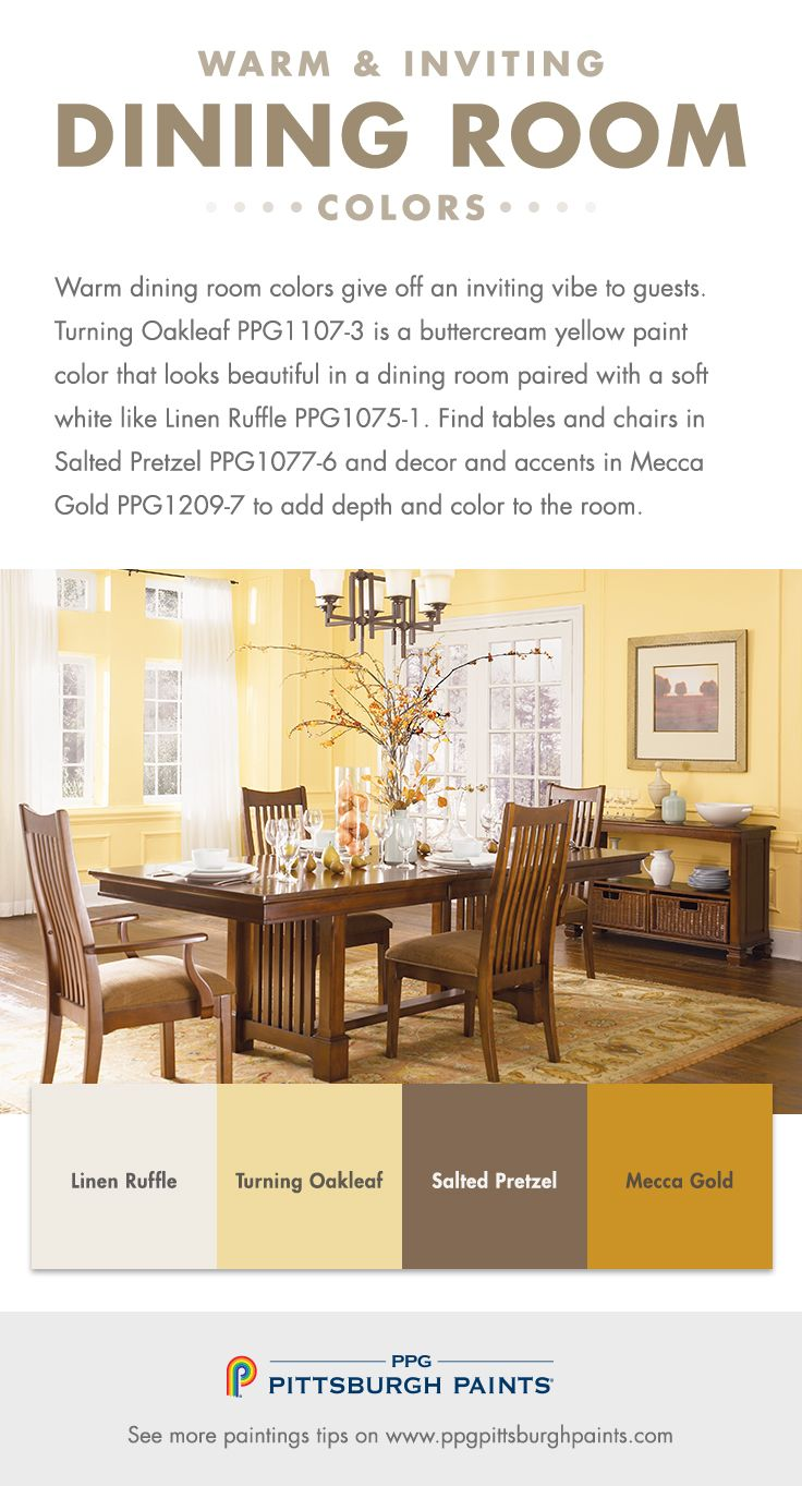 What Dining Room Colors Should I Use  Warm dining room