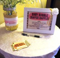 under the sea baby shower diaper raffle | Diaper Raffle ...