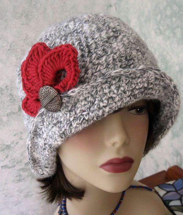 Free Crochet Pattern Flapper Cloche Vtwctr
