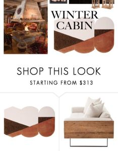 Cozy cabin woodsy  warm by twenty liked on polyvore also rh pinterest