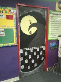 My Nightmare Before Christmas door for Halloween! | Fun At ...
