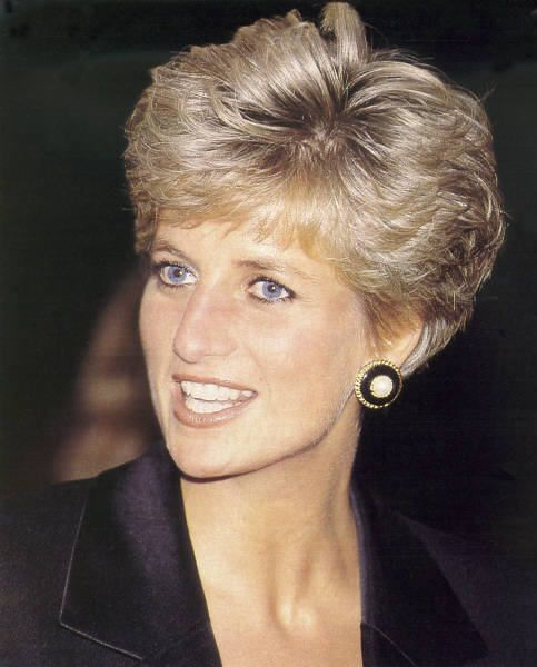Get Princess Diana's Style By Keeping The Majority Of Your Hair A