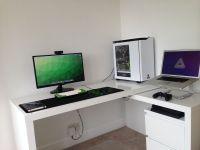 Dual Boot Battlestation | Ikea malm, Malm and Desks