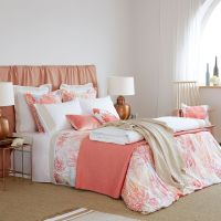 Sbanas y Fundas Estampado Digital Coral Multicolor | Bed ...
