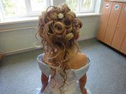 curly wavy updo little girls