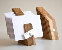 Letter Holder Wood Mail Organizer Desk Organization OSCAR ...