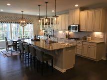 Kitchen Layout - Jefferson Square Model Ryan Homes