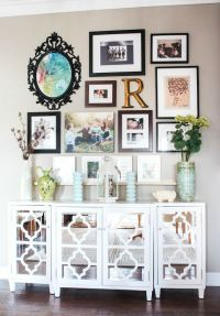 Create a Gallery Wall - Ideas for Picture Frame Displays ...