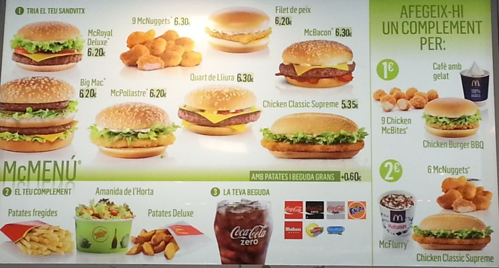 Lunch Menu Time Mcdonalds