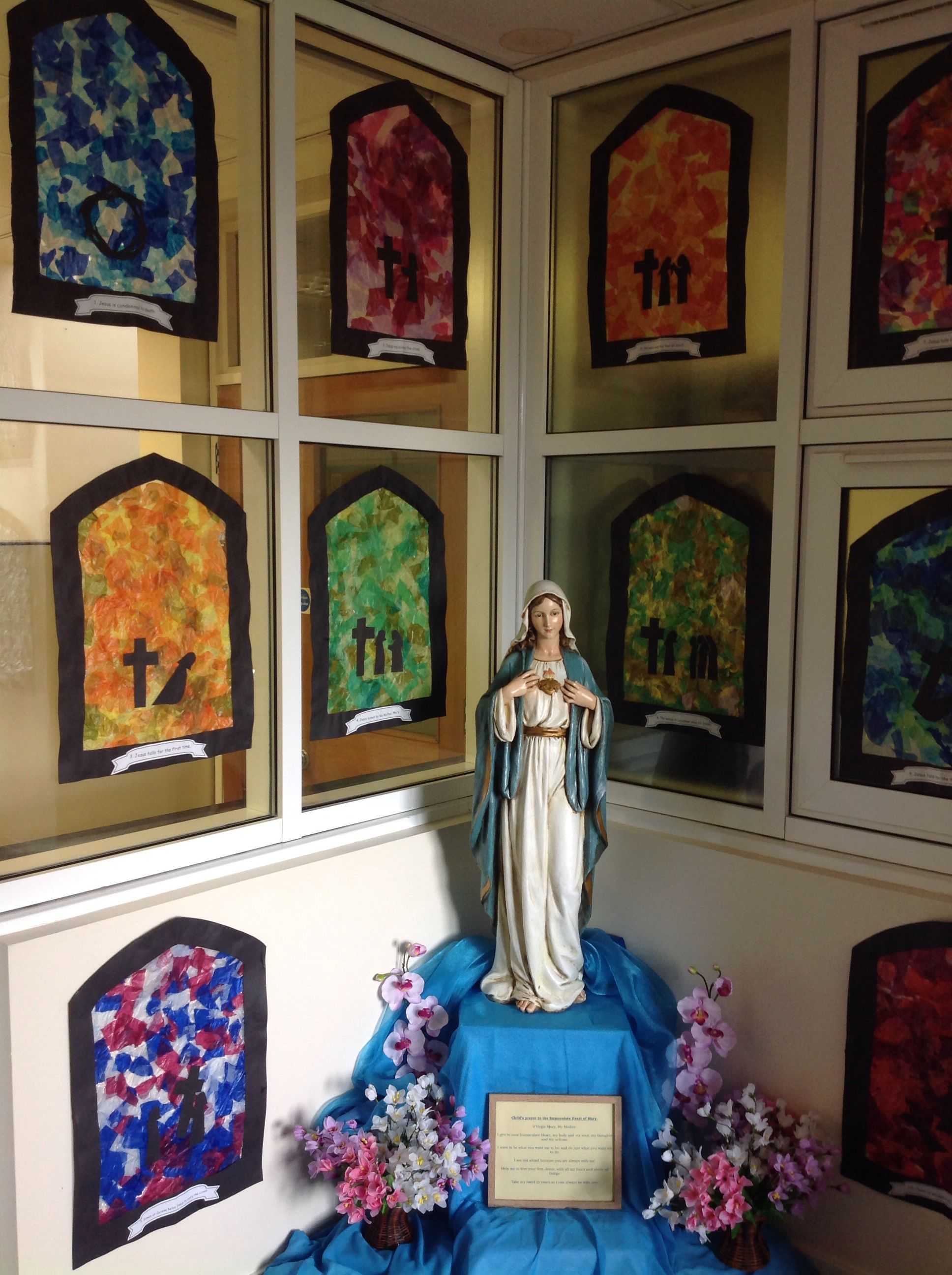 Stations Of The Cross Art Activity