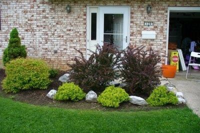 Landscaping Ideas For Front Yard Of Ranch House Is One Of Pictures