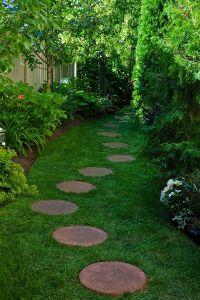 37 MESMERIZING GARDEN STONE PATH IDEAS   Garden paths ...