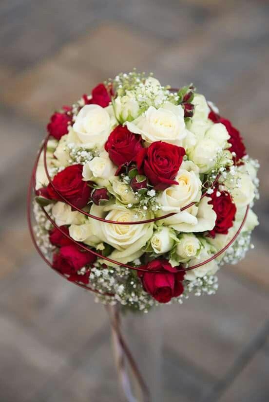 Die besten 25 Hochzeitsblumen rot weiss Ideen auf Pinterest  Brautstrau rot wei