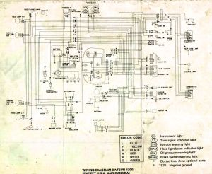 Wiring diagram for nissan 1400 bakkie #8 | nissan