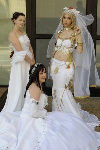 final fantasy Wedding Dress | Yuna, Garnet and Ashe by ...