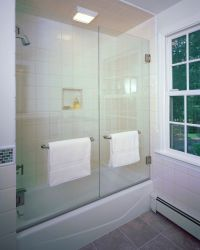 Good Looking tub enclosures in Bathroom Contemporary with ...