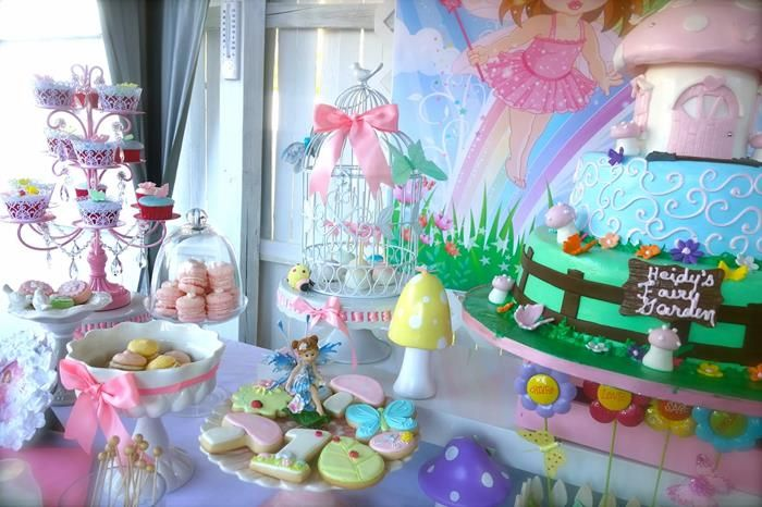 Magical Fairy Garden Party Planning Ideas Supplies Idea Cake