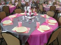 Table Set-up for the Princess Themed Baby Shower   Our ...