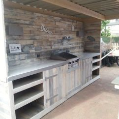 Cheap Kitchen Trash Can Delta Best 25+ Outdoor Cabinets Ideas On Pinterest ...