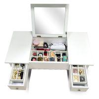 Amazon.com - Organizedlife Wooden Makeup Vanity Table ...