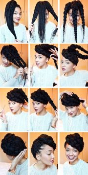 tutorials natural hair updos