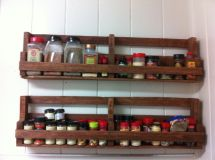 Home Spice Rack Of Pallets Homes
