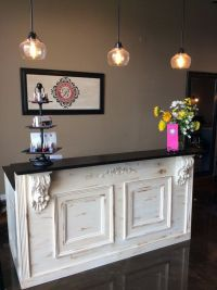 Tuscan/ French: Bar, Retail Counter / Reception Desk ...