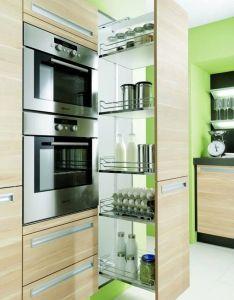 Alacena entre el horno  la nevera proyecto cocinas pinterest kitchens kitchen design and house also rh