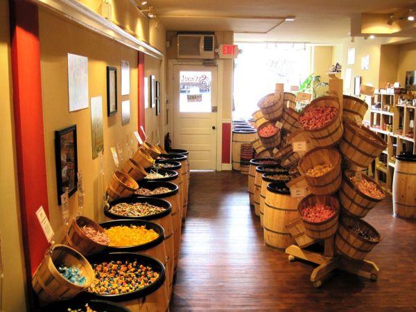 Wooden Barrel Displays General Store Wood Barrels Elegant Events