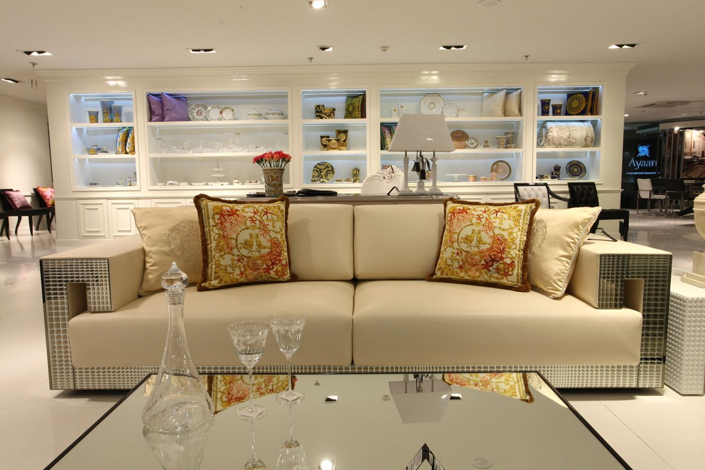 versace sofa designer throw pillows for couch dreams pinterest home