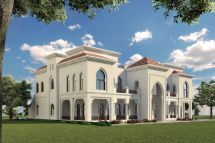 Dubai Luxury Villa Exterior Designs