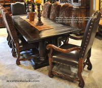 Rustic Dining Chairs Online at Accents of Salado | Tuscan ...