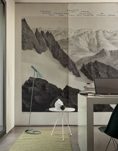 Stunning wallpaper in vetta by wall  deco italy available two shadesis non woven will be made on demand the size you need and comes also walldeco interior design belgradeapparel loft rh pinterest