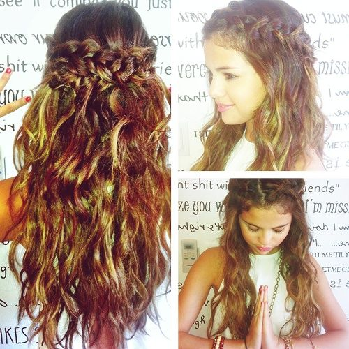 14 Chic Hairstyles For All Occasions My Hair Selena And Girls