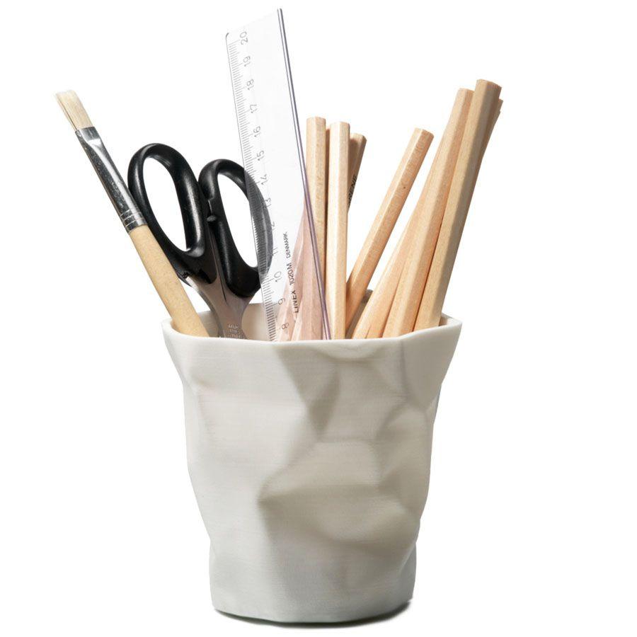 Crinkled Cup PenPencil Holder  Office  Pinterest