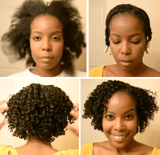 Flat Twist Out On Natural Hair Tutorial Appartements Flat Twist